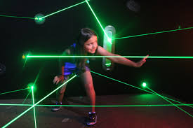 Monster Mini Golf Laser Maze Image